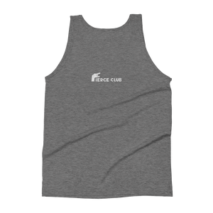 Rock Who You Are + Fierce club Unisex Tank Top