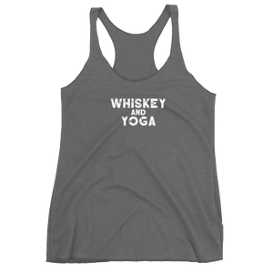 Whiskey & Yoga Women's Racerback Tank
