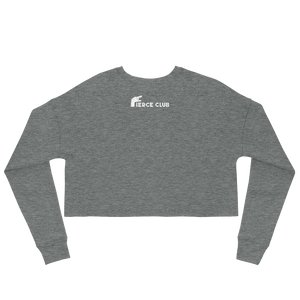 Fierce Club logo Crop Sweatshirt