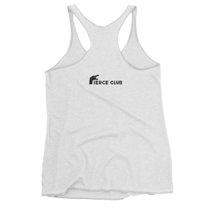 Rock Who You Are Women's Racerback Tank