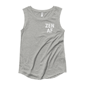 Zen AF Ladies' Cap Sleeve T-Shirt