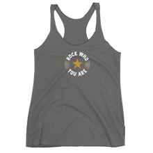 Rock Who You Are + Fierce Club Women's Racerback Tank