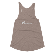 Rock Who You Are + Fierce Club Women's Tri-Blend Racerback Tank