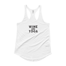 Wine & Yoga Ladies' Shirttail Tank