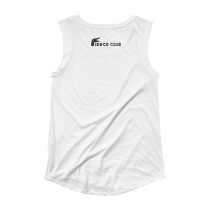 Rock Who You Are + Fierce club Ladies' Cap Sleeve T-Shirt