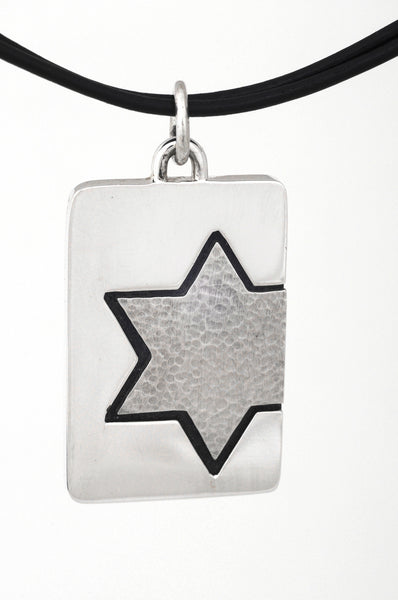 STAR OF DAVID DOGTAG