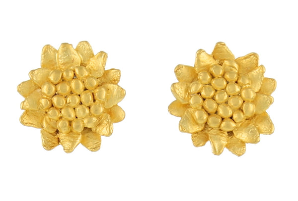 SMALL SUNFLOWER STUD