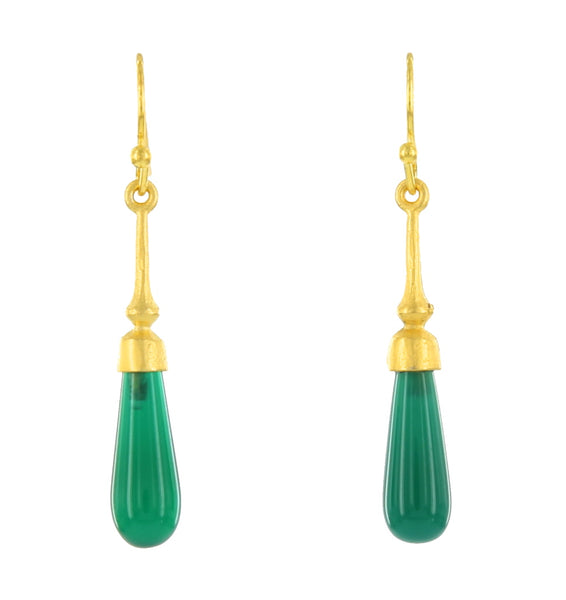 SOHO FRENCH WIRES / GREEN ONYX
