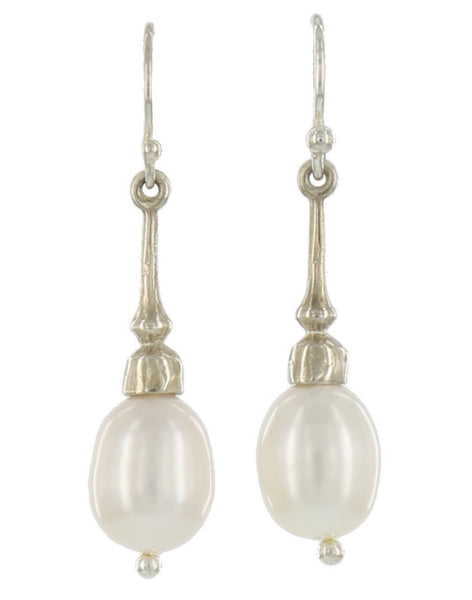 SOHO FRENCH WIRES / STERLING, FRESHWATER PEARL