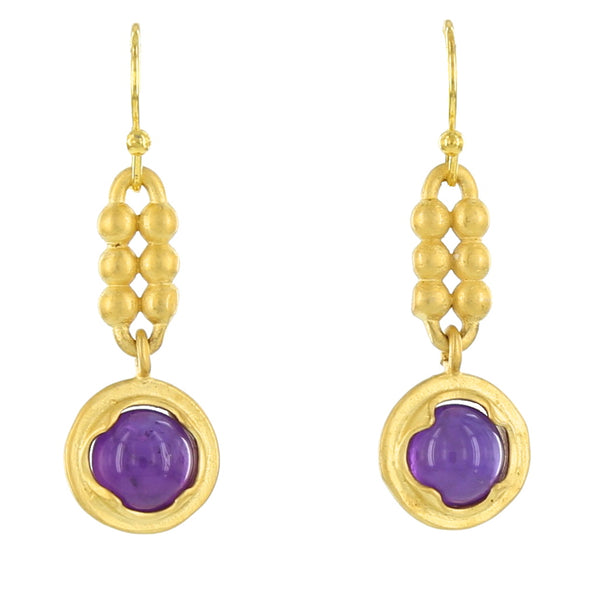 KLIMT FRENCH WIRES / AMETHYST