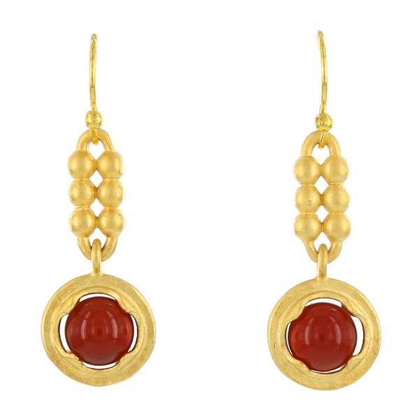 KLIMT FRENCH WIRES / CARNELIAN