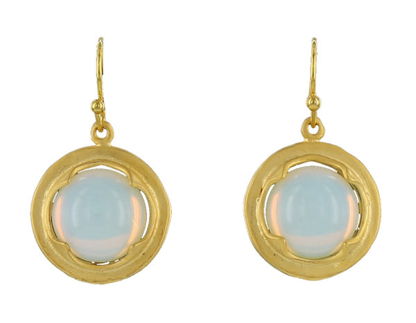 GOLD FRAME FRENCH WIRE / OPALITE
