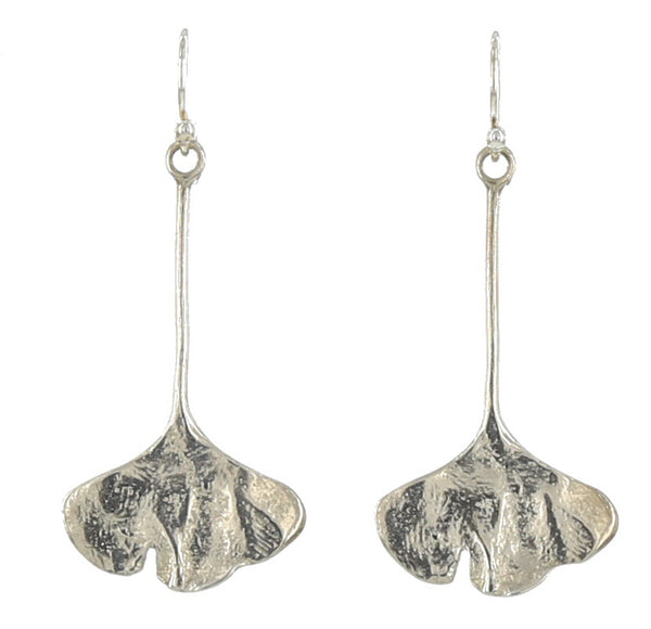 GINGKO FRENCH WIRE / SILVER