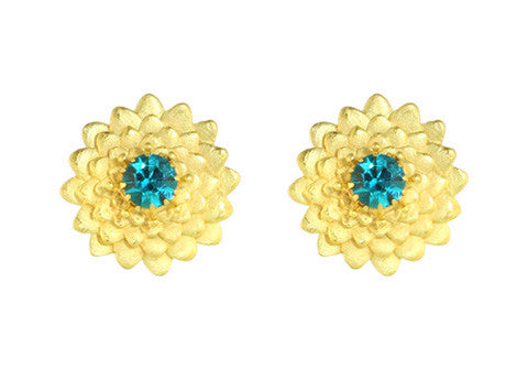 DAHLIA CLIPS  / BLUE ZIRCON