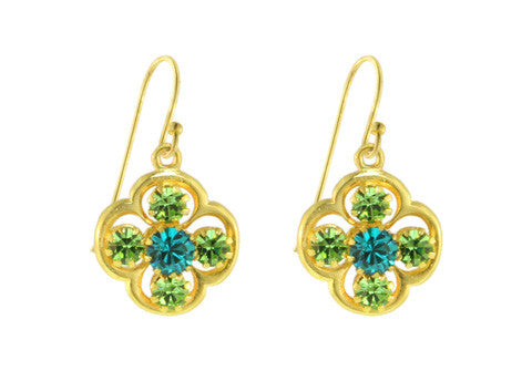 CLOVER FRENCH WIRES / BLUE ZIRCON