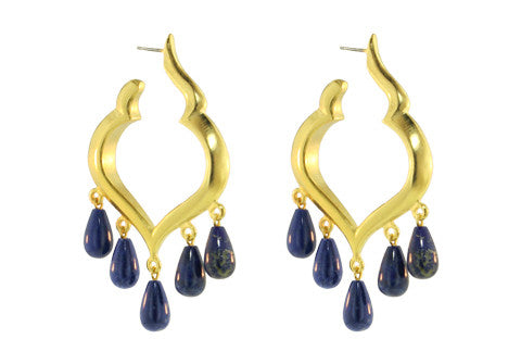 MARRAKECH HOOPS  / LAPIS