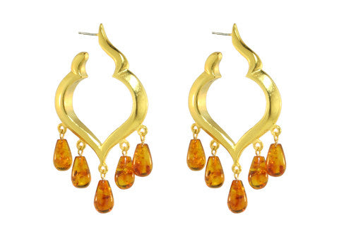 MARRAKECH HOOPS / AMBER