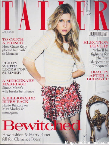 Tatler Magazine - April 2010 - Clemence Poesy