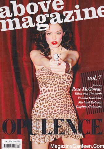 Above Magazine - 7 - Rose McGowan by Ellen Von Unwerth