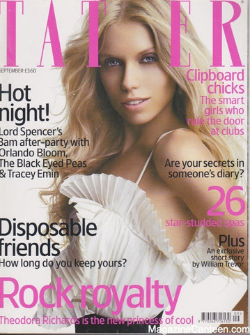 Tatler Magazine - September 2006 - Theodora Richards