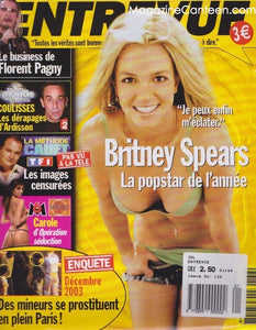 Britney Spears - Entrevue Magazine France