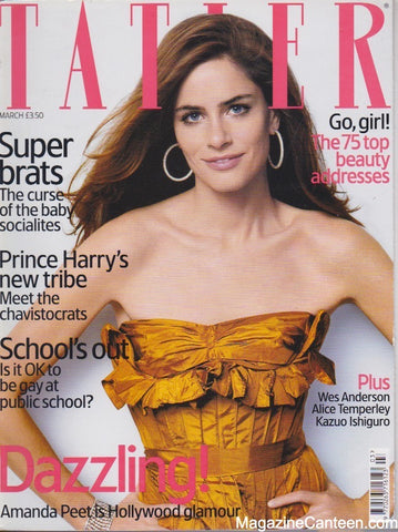 Tatler Magazine - March  2005 - Amanda Peet