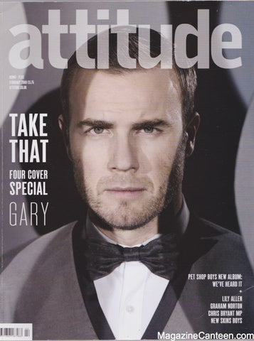 Attitude Magazine - 175 - Gary Barlow - Take That