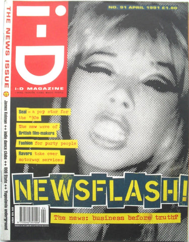 I-D Magazine # 91 - 1991 - The news issue.