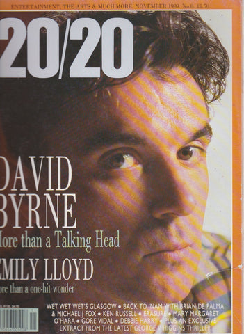 20/20 Magazine - David Byrne