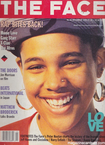 The Face Magazine 126 - Monie Love - November 1990