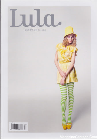 Lula Magazine - Issue 10 - Lemon Meringue Charlotte Di Calypso