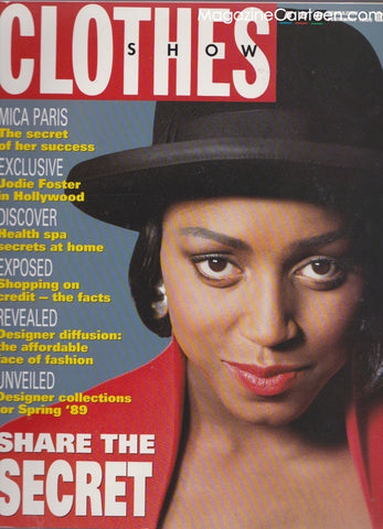 Clothes Show Magazine - Mica Paris