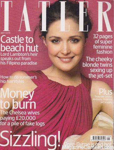 Tatler Magazine - May 2007 - Rose Byrne