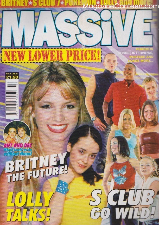 Britney Spears - Massive Magazine