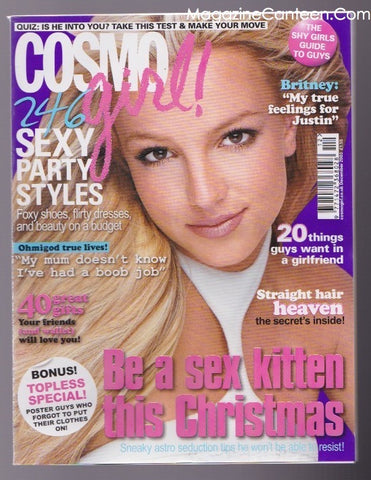 Britney Spears - Cosmo Girl Magazine
