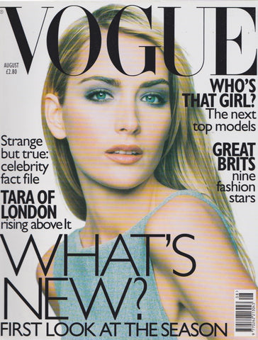 Vogue Magazine -  August 1997 - Georgina Grenville