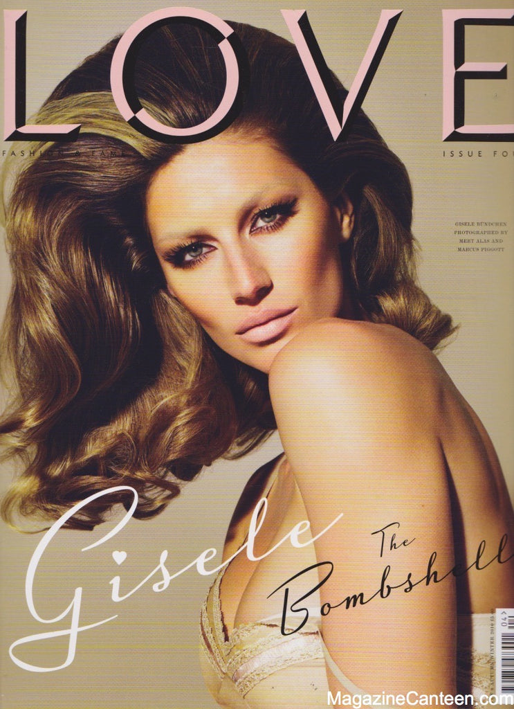 Love Magazine Issue 4 Gisele Bundchen