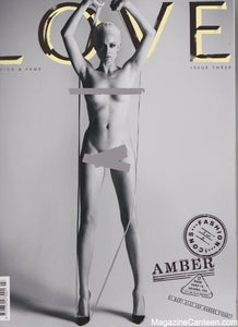 Love Magazine Issue 3 Amber Valletta