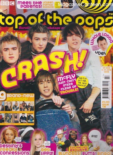 Top Of The Pops Magazine  126 - McFly harry judd