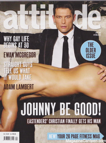Attitude Magazine / Issue 190 / Johnny Partridge
