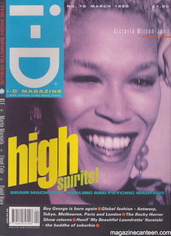 I-D Magazine 78 - Victoria Wilson James March 1990