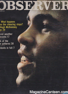 The Observer Magazine 1975 - Muhammad Ali