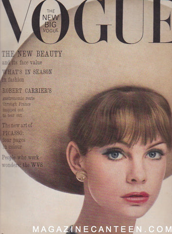 Vogue Magazine -  May 1963 - Jean Shrimpton William Klein