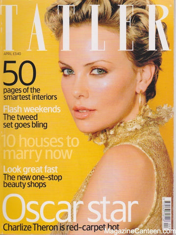 Tatler Magazine - April 2004 - Charlize Theron
