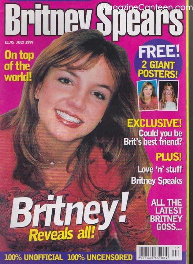 Britney Spears - Poster magazine