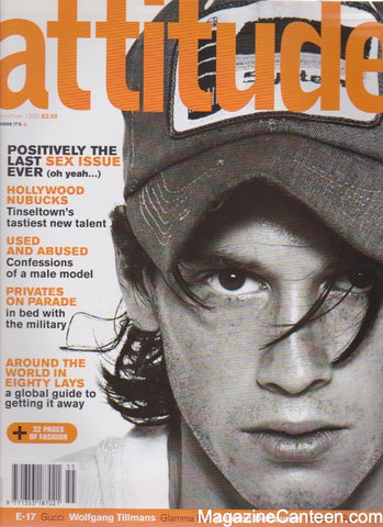 Attitude Magazine 1998 - 55 / Chad Christ