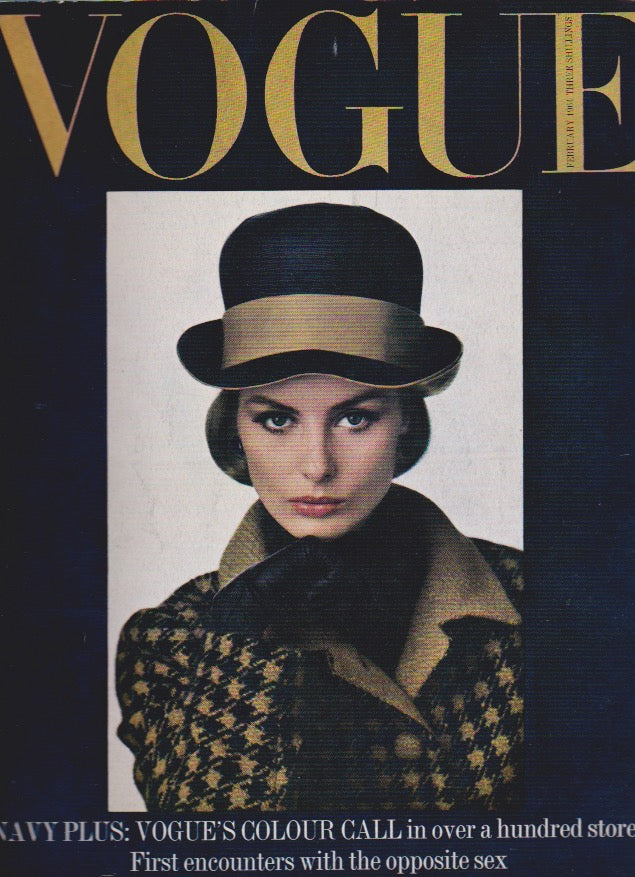Vogue Magazine -  February 1964 - Robert Freson