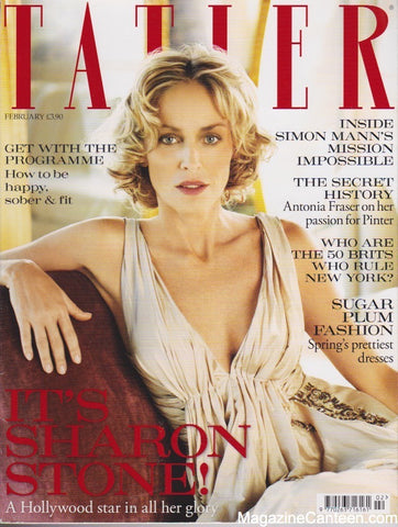 Tatler Magazine - February 2010 - Sharon Stone