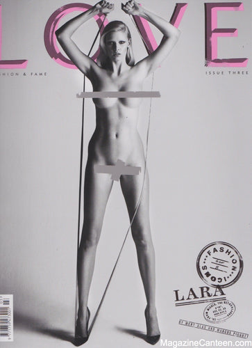 Love Magazine Issue 3 Lara Stone