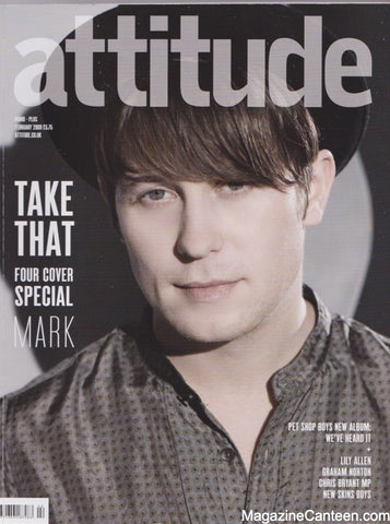 Attitude Magazine / Issue 175 / Mark Owen / Take That